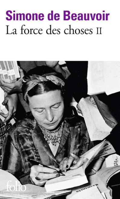 La force des choses Simone de Beauvoir